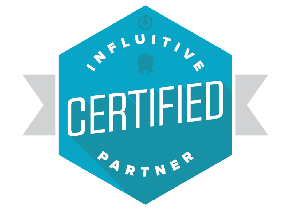 advocacy maven influitive certified partner badge