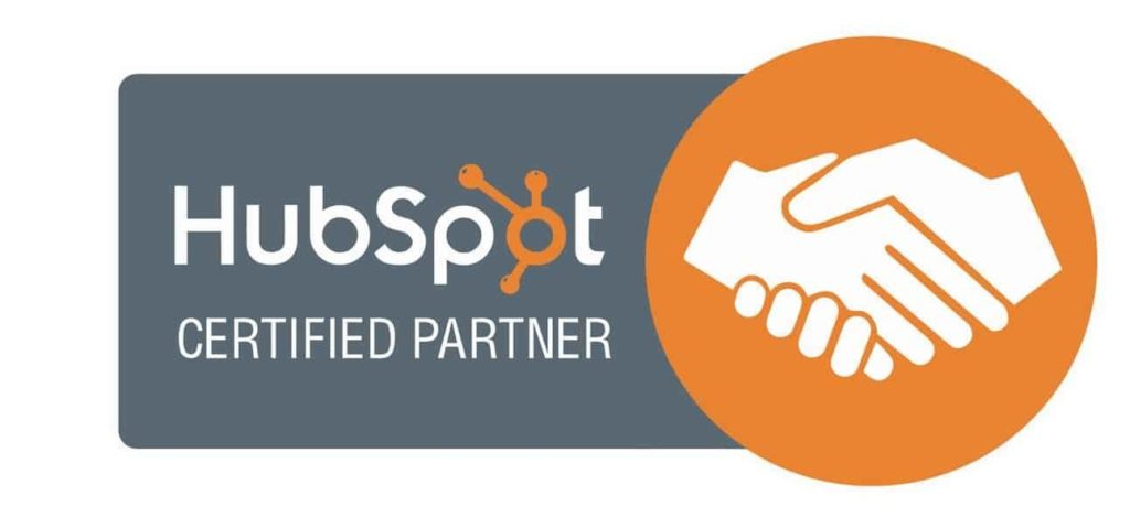 hubspot inbound marketing certified partner badge